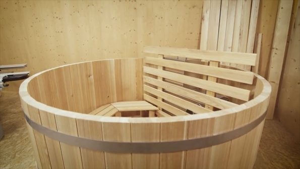 DIY Hottub Of Wood Made With FELDER