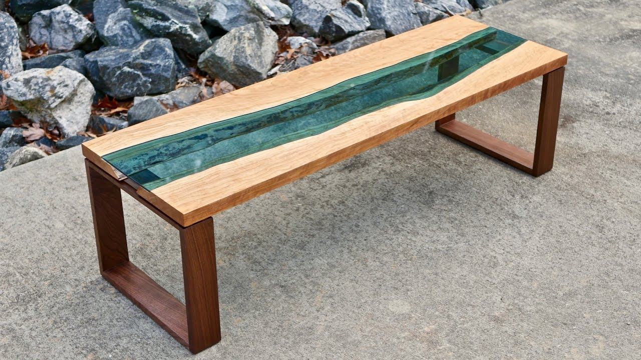 How To Build Live Edge River Coffee Table
