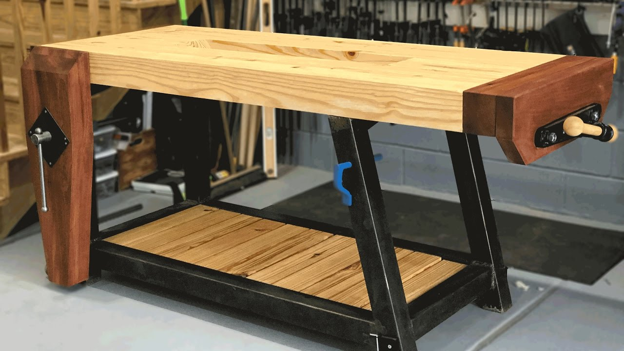 Ultimate Woodworking Workbench Build